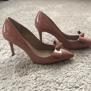 Dusty Rose Pumps